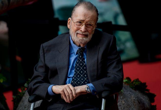 Chicho Ibáñez Serrador, durante la premiere de la nueva película de Jota Bayona.
