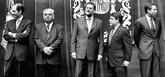 Rajoy, con los tres presidentes de la Generalitat con causas...
