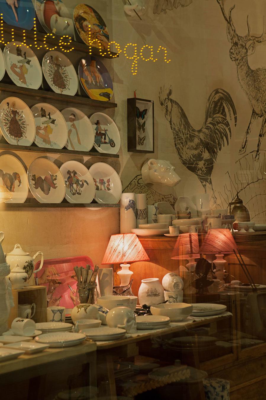 La tienda de Guille García- Hoz está situada en la calle Pelayo, 43...
