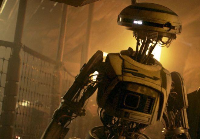 El divertido robot L3-37 es uno de los personajes más carismáticos...