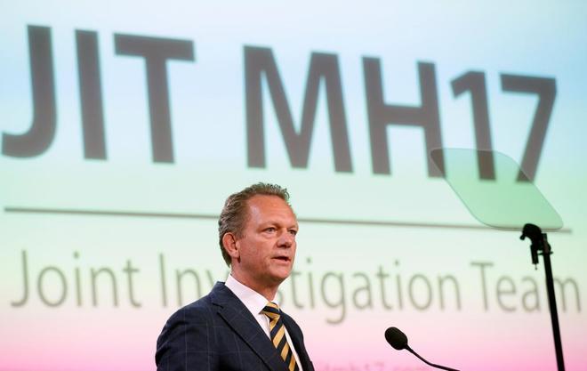 Fred Westerbeke, el fiscal de la investigación holandesa sobre el vuelo MH 17, en Bunnik (Holanda).