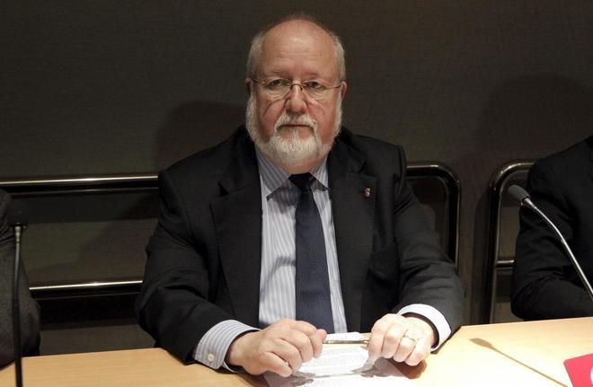 El ex presidente de la Diputació de Barcelona, Salvador Esteve.