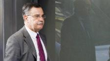 Ángel Hurtado, presidente del tribunal del 'caso Gürtel', en las...