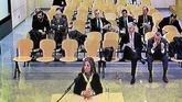 La mujer de Luis Bárcenas, Rosalía Iglesias, declara en la Audiencia...