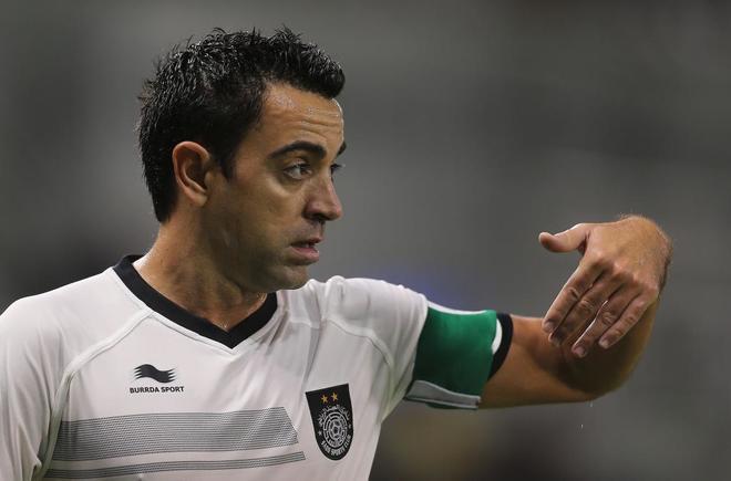 El ex centrocampista del Barcelona se unió al Al Sadd