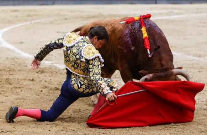 El torero de San Blas cuaja un extraordinario toro de