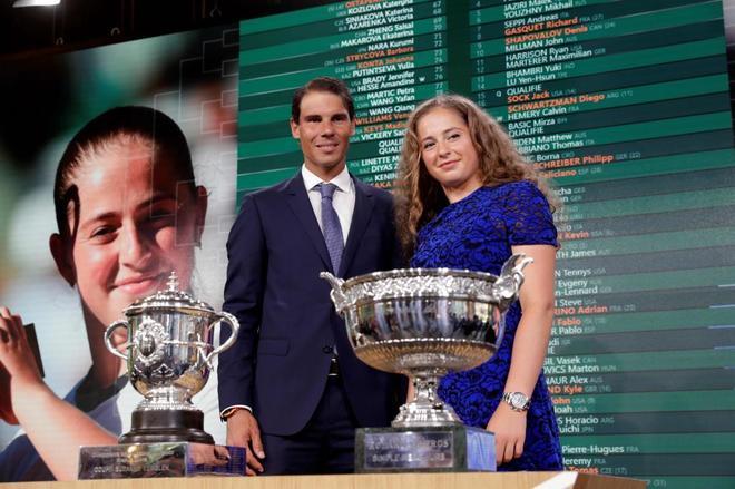 El español evita a Zverev, Thiem y Djokovic hasta la