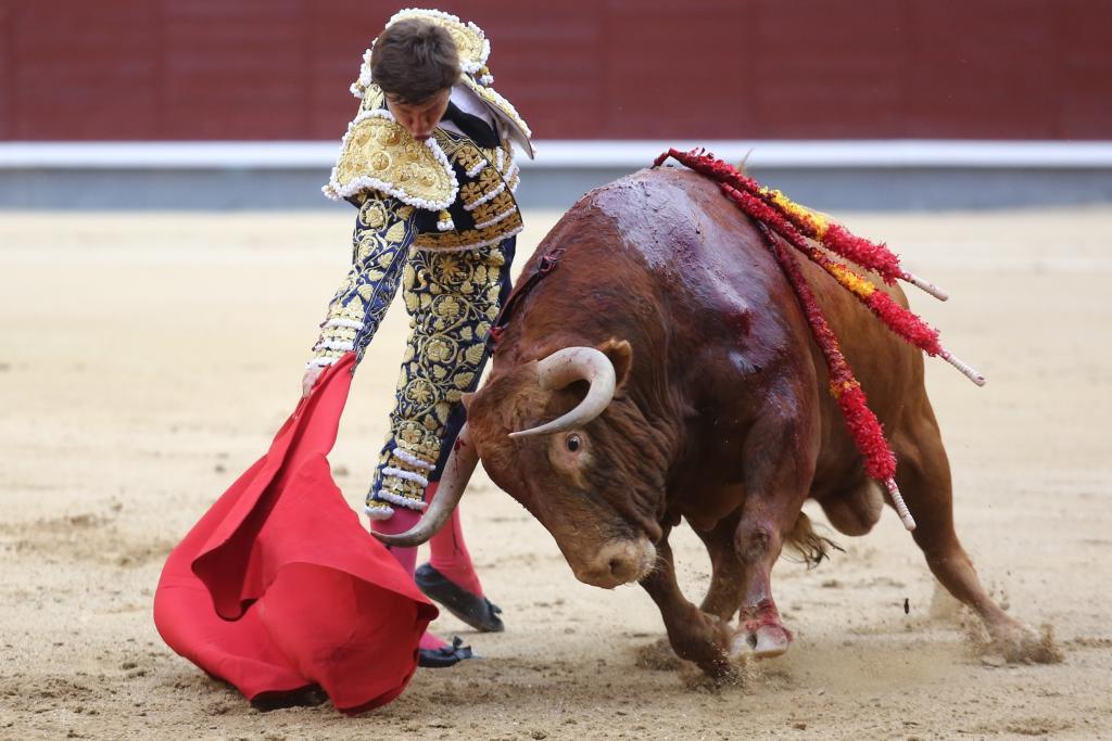 El Juli y 'Licenciado', de Alcurrucén. Premio a la mejor faena de San Isidro