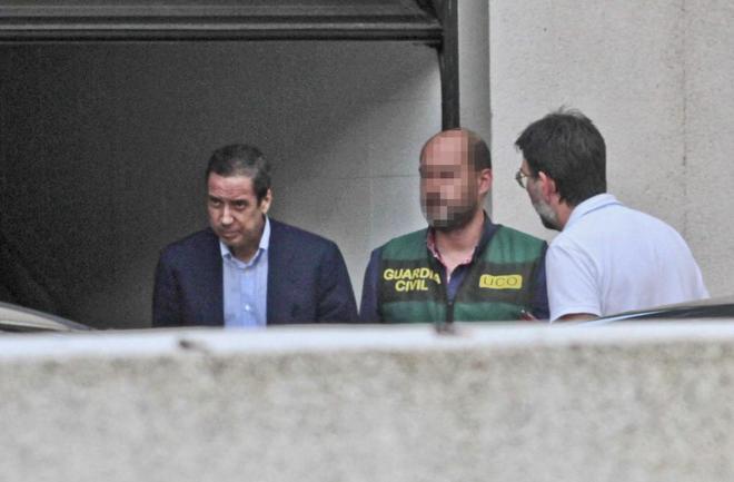 La juez decreta prisión sin fianza para Eduardo ZaplanaLa UCO