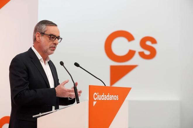 Ciudadanos apoyará una moción de censura contra Rajoy que sólo contemple la celebración de elecciones