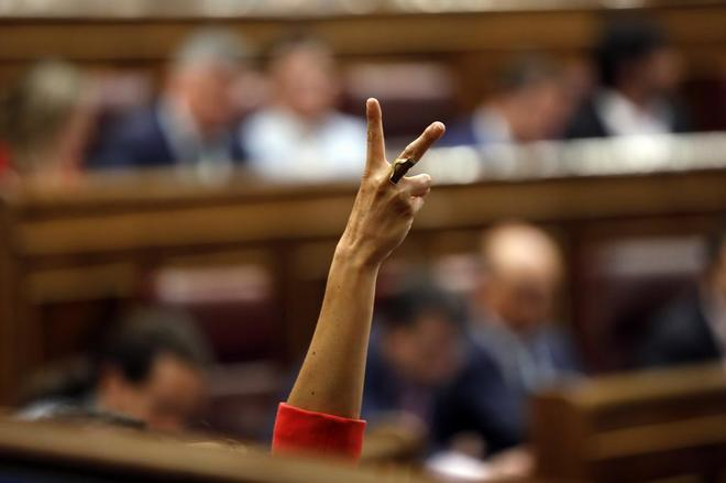 La moción de censura presentada por el PSOE contra Mariano