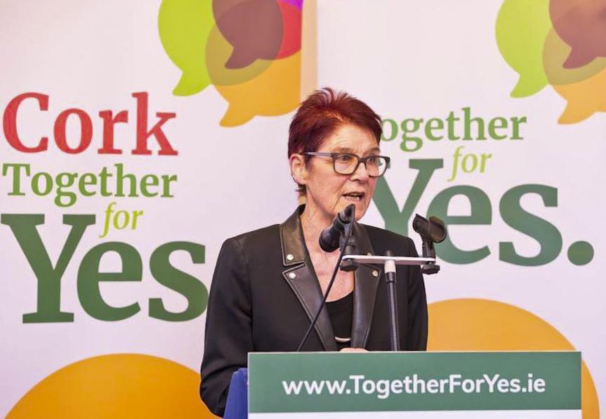 La feminista que dirige la campaña `Together for Yes` (`Juntos