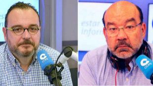 Juan Pablo Colmenarejo (izquierda) y Ángel Expósito.