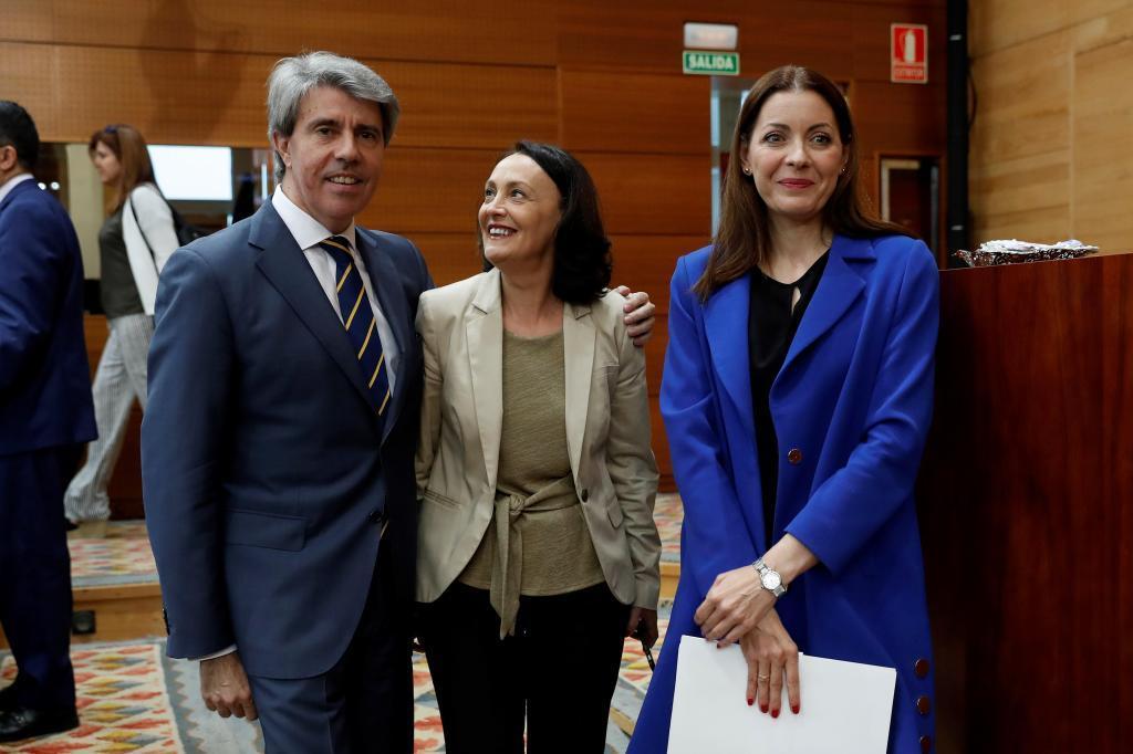 El presidente de la Comunidad de Madrid, Ángel Garrido, se