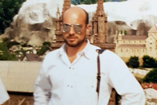José Manuel, cuando ya emigró a Suiza y se convirtió en empresario.