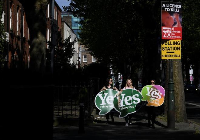 Los irlandeses fijaron un récord de participación en un referéndum