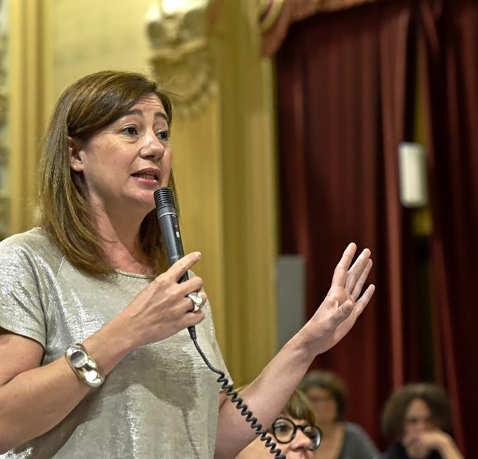 La presidenta Francina Armengol en una imagen de archivo.