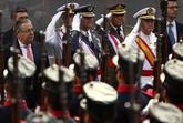 El ministro del Interior, Juan Ignacio Zoido, durante el Día de las...