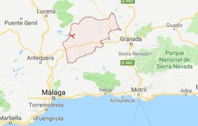 Un muerto y un herido al caer una aeronave en la localidad granadina de Loja