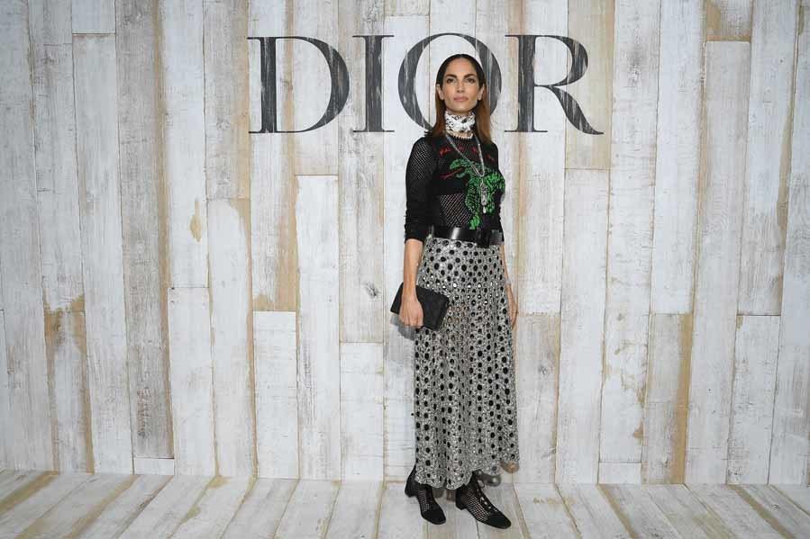Eugenia Silva - Dior colección Crucero 2019