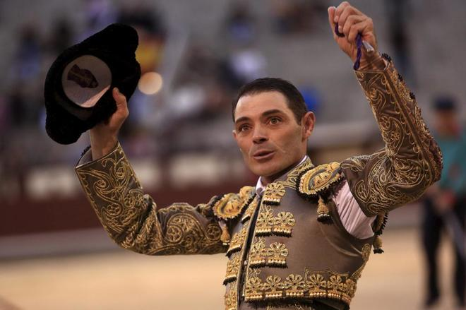 Sánchez Vara en una de sus últimas actuaciones en Las Ventas