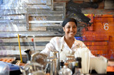 La variada gastronomía dominicana, con influencias españolas y...