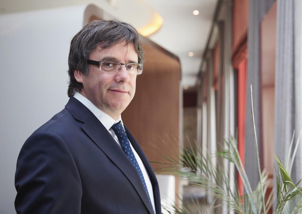 Carles Puigdemont, en Berlín la pasada semana.