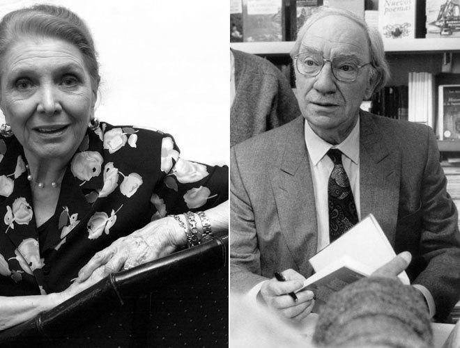 María Dolores Pradera y Fernando Fernán Gómez.