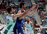 El jugadro de baloncesto Asier de la Iglesia tiene esclerosis múltiple desde hace seis años.