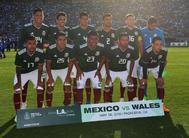 El once inicial de México en el amistoso ante Gales el 28 de mayo.