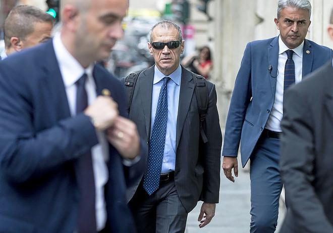El ex directivo del FMI Carlo Cottarelli.