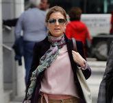 Rosalía Iglesias, mujer de Luis Bárcenas, a su llegada a la...