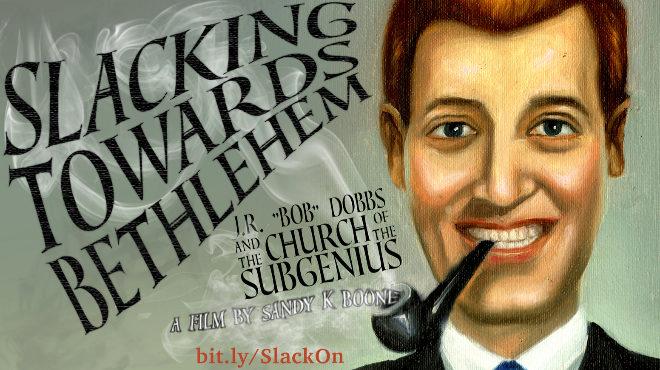 Cartel del documental sobre la Iglesia de los Subgenios.