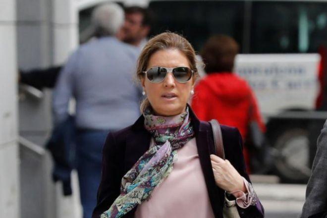 Rosalía Iglesias, este miércoles en la Audiencia Nacional.