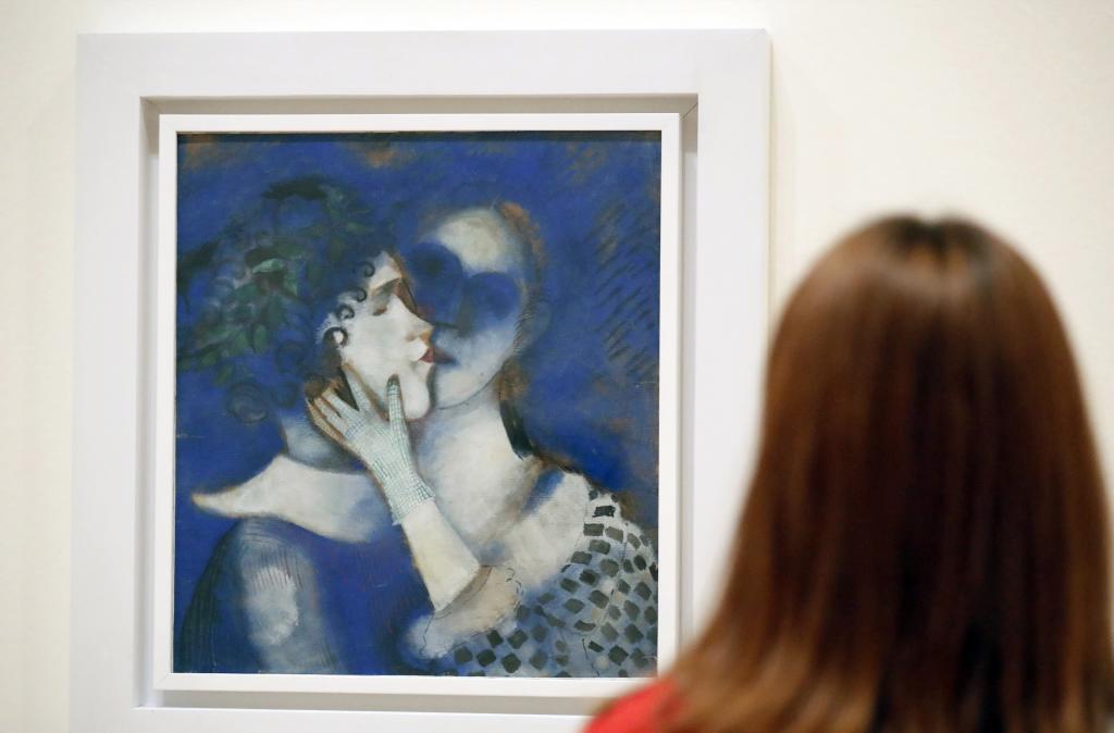 El Guggenheim Bilbao muestra lo esencial de la inconfundible obra de Chagall