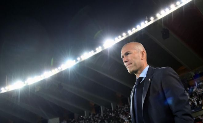 Zidane, el pasado 16 de diciembre, durante la final del Mundial de Clubes en Abu Dhabi.