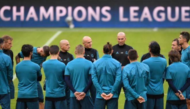 Zidane, en la previa de la ida de semifinales ante el Bayern, en Múnich.