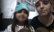 Hamida Suárez, junto a su hija en una foto usada para pedir ayuda.