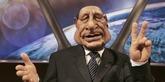 El muñeco de Jacques Chirac en el programa 'Guiñoles'.