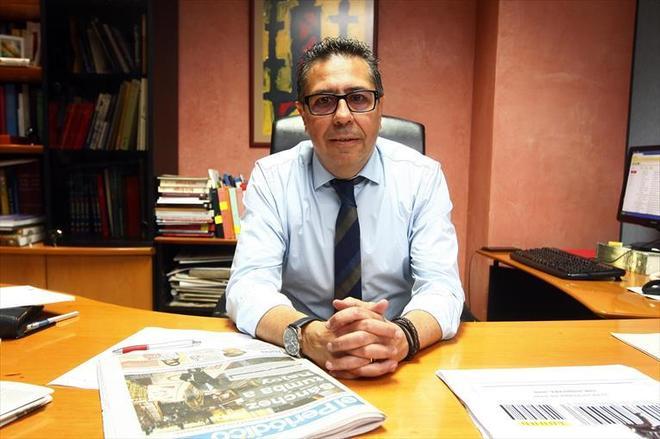 El periodista Nicolás Espada.