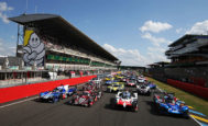 Los 60 coches que tomarán la salida en Le Mans.