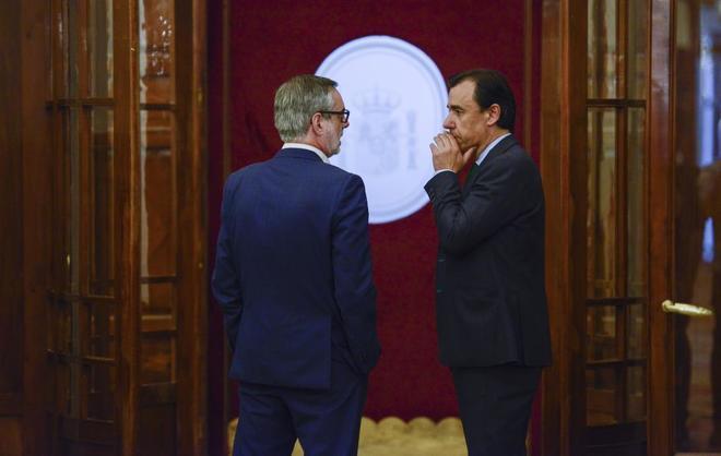 José Manuel Villegas (Ciudadanos) y Fernando Martínez-Maíllo (PP...