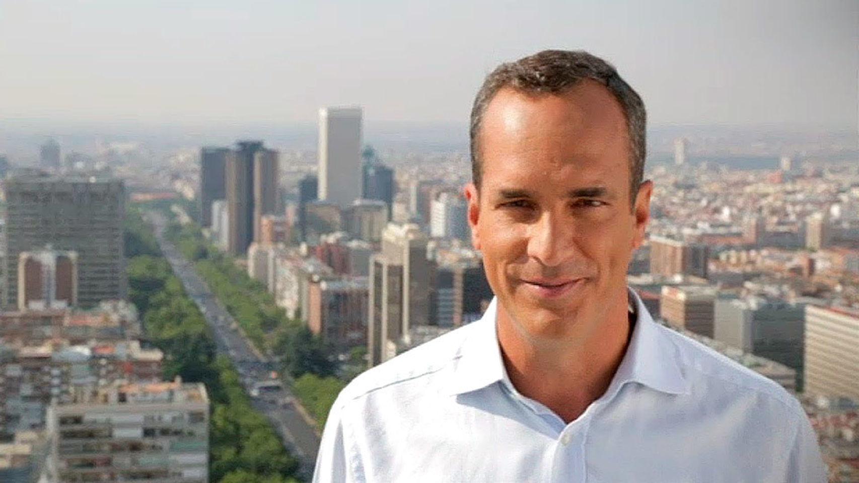 El periodista Santi Acosta.