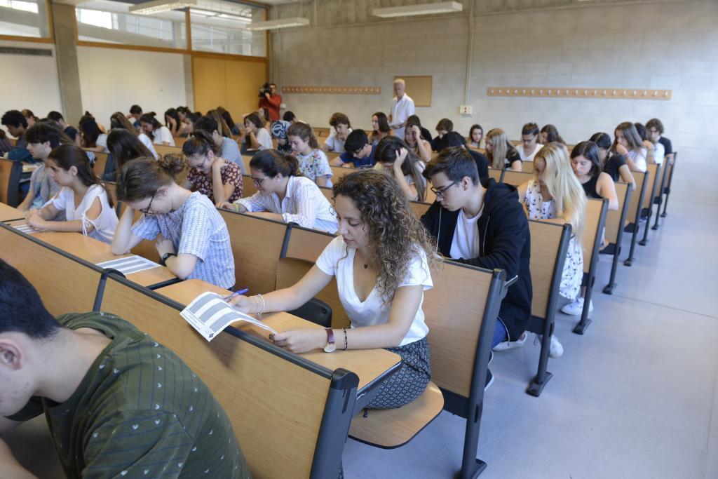 Unos 4.000 estudiantes de Baleares se presentan a la Selectividad  entre este martes y jueves