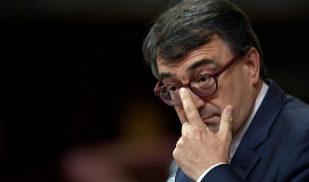 El portavoz del PNV en el Congreso, Aitor Esteban, en el debate de la...