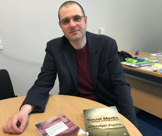El profesor Christian Fuchs.
