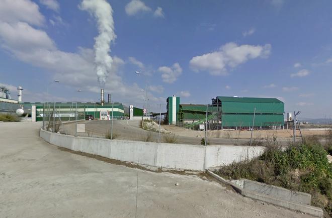 Planta de la empresa Aceites y Energía Santamaría, en Lucena (Córdoba).