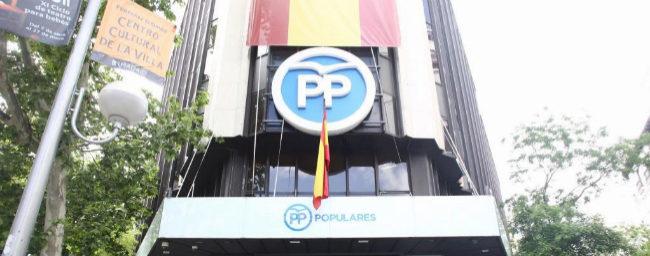 La sede del Partido Popular, en la calle Génova de Madrid.