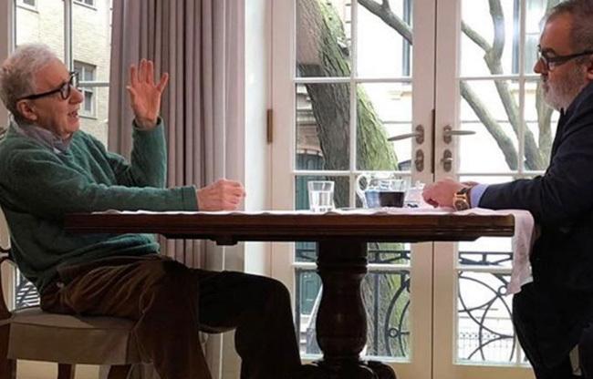 Woody Allen sorprende declarándose defensor del movimiento #MeToo