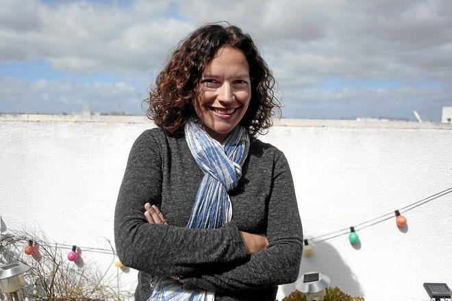 La catedrática Lina Gálvez, durante una entrevista concedida a EL MUNDO en 2014.